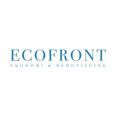 Ecofront logotyp